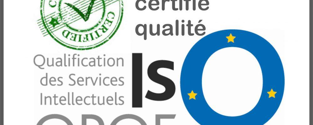 école certifiée qualité
