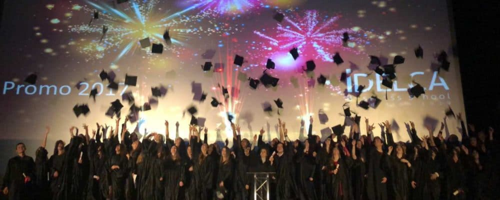 remise diplome école commerce Montpellier