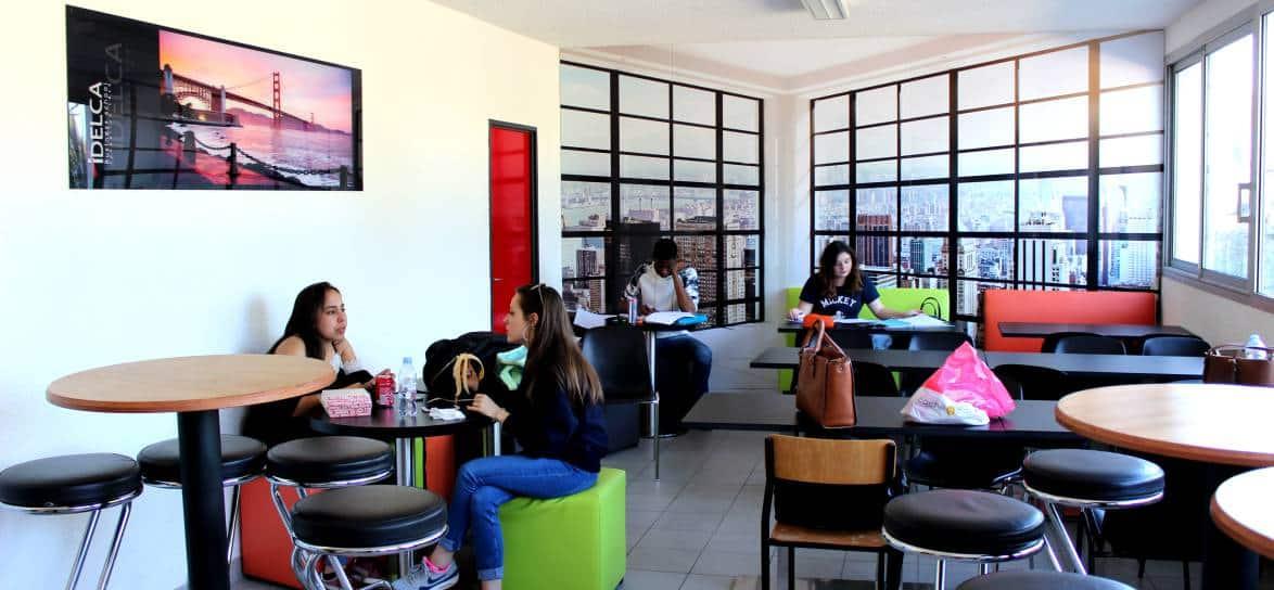 cafet école commerce IDELCA