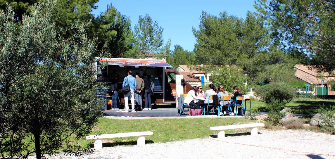 Food truck école commerce IDELCA